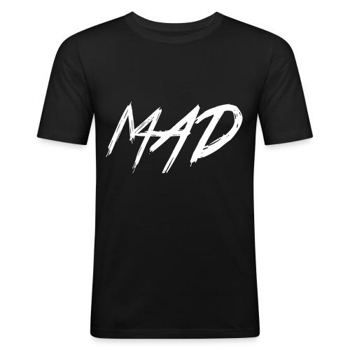 White and black - slim fit T-shirt