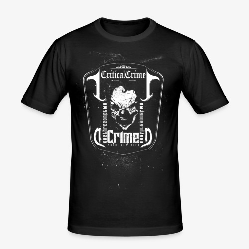 Skull Dark - Männer Slim Fit T-Shirt