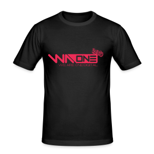 Official We Are One Digital Radio Design - Men's Slim Fit T-Shirt