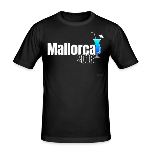 Cocktail Mallorca 2018 - Shirt - blau - Männer Slim Fit T-Shirt