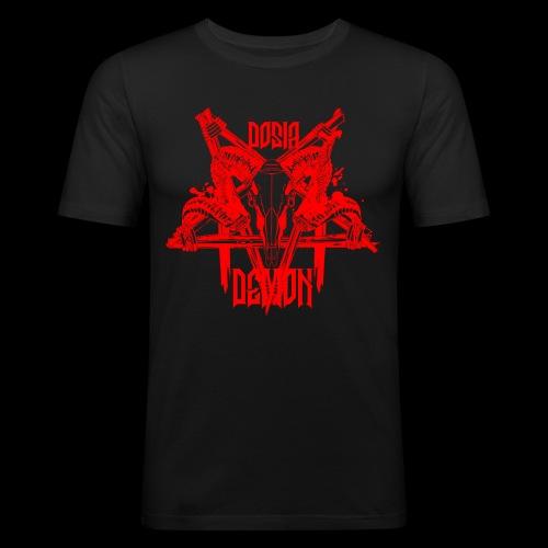 Dosia Demon Baphomet Logo - Männer Slim Fit T-Shirt