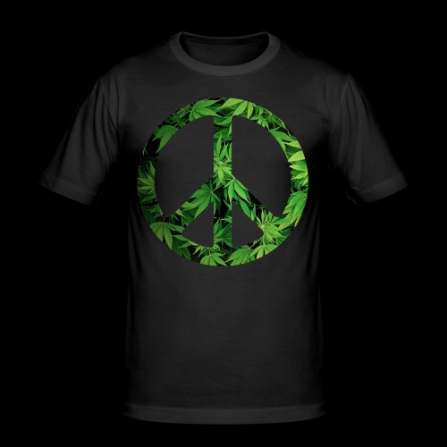 Cannapeace - Men's Slim Fit T-Shirt
