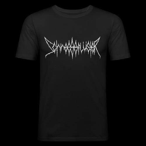 Schneegeflüster-Logo - Männer Slim Fit T-Shirt