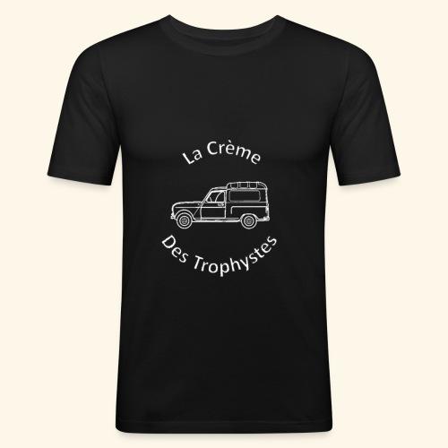 La Crème Des Trophystes - Modèle Fourgonette Blanc - T-shirt près du corps Homme