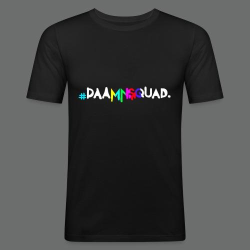daamnsquad font - Männer Slim Fit T-Shirt