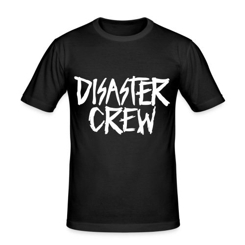 Disaster Crew Logo - slim fit T-shirt