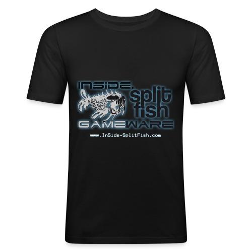 InSide SplitFish Collection - Männer Slim Fit T-Shirt