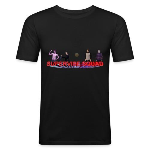 Quinton Reviews Supervise Squad - Men's Slim Fit T-Shirt
