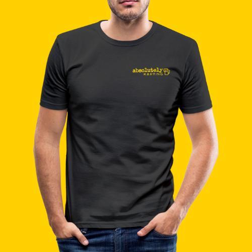 logo1yel - Men's Slim Fit T-Shirt