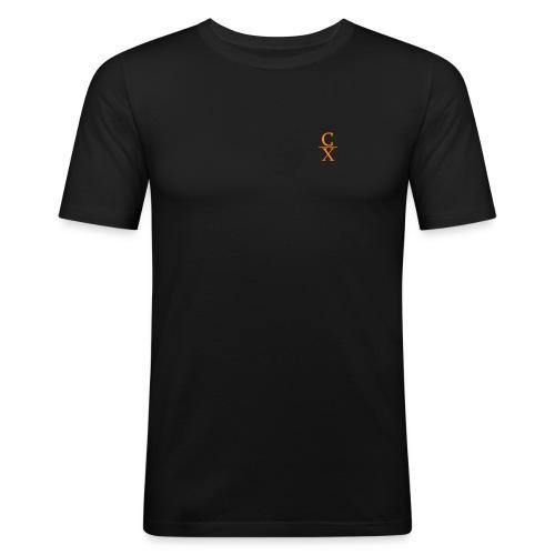 CHARLES CHARLES LOGO - Men's Slim Fit T-Shirt