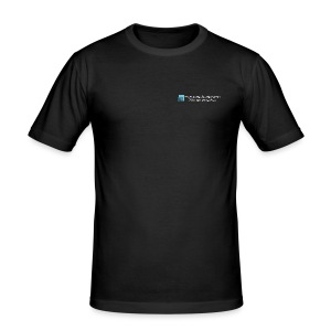 Logo, Web and Twitter - Men's Slim Fit T-Shirt