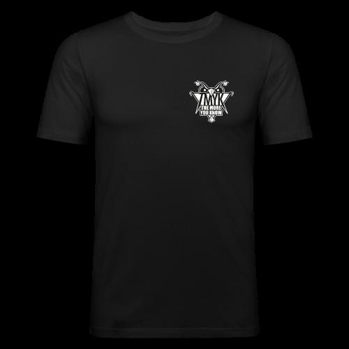 TMYK Chest Emblem Tee - Men's Slim Fit T-Shirt