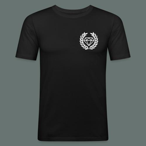 White Diamond - Men's Slim Fit T-Shirt
