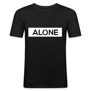 Alone BLACK Edition - Maglietta aderente da uomo