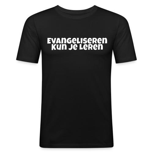 Evangeliseren Kun Je Leren - slim fit T-shirt