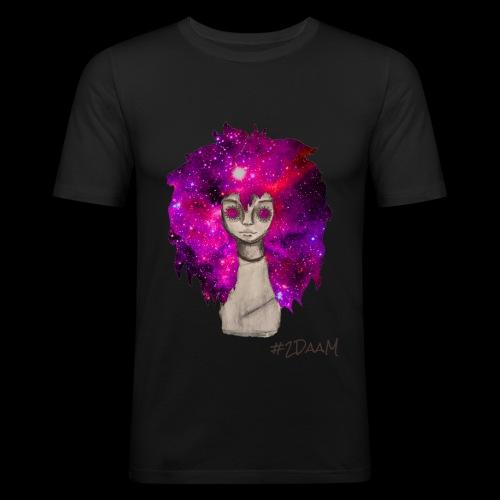 Universe Girl [BLK Edition] - slim fit T-shirt