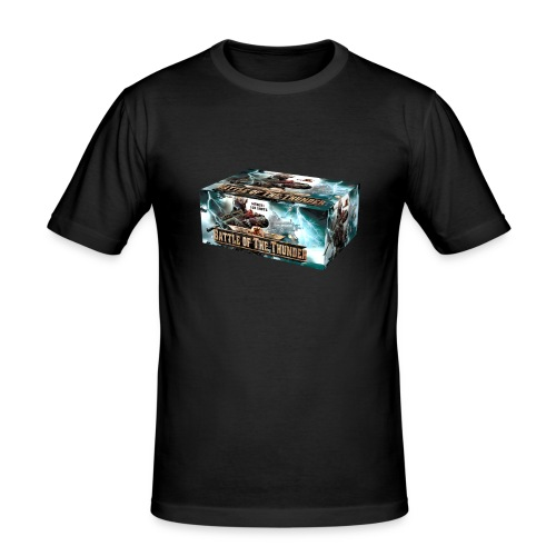 Battle of the Thunder - Männer Slim Fit T-Shirt