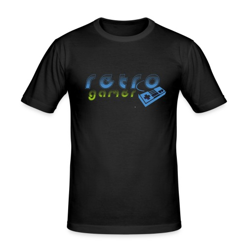retro gamer - Männer Slim Fit T-Shirt