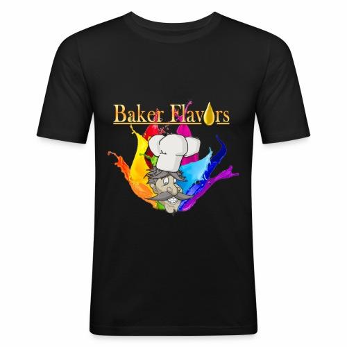 Baker Flavors - Männer Slim Fit T-Shirt
