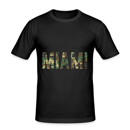 Miami - Männer Slim Fit T-Shirt