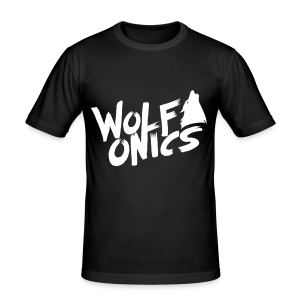 Wolfonics - Männer Slim Fit T-Shirt