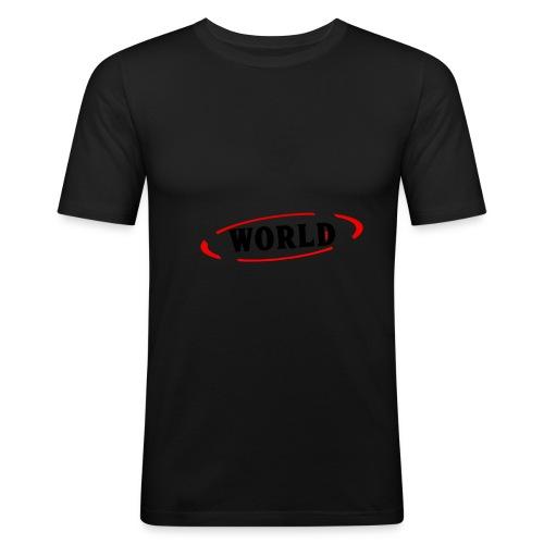 World Vibes - T-shirt près du corps Homme