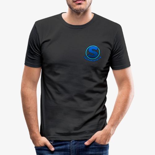 Shadowspear18 Logo+Schrift - Männer Slim Fit T-Shirt