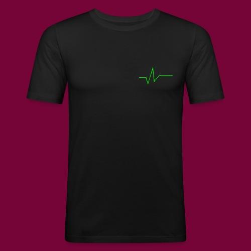 DJ SWAT Wave - Männer Slim Fit T-Shirt