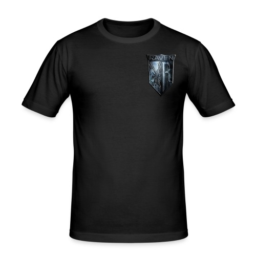 Marble RavenHawk Gaming Logo - Men's Slim Fit T-Shirt