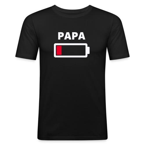 Papa - Männer Slim Fit T-Shirt