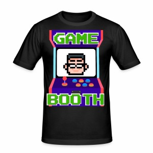 GameBooth Icon Logo - Men's Slim Fit T-Shirt