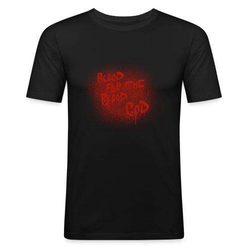 Blood For The Blood God - Men's Slim Fit T-Shirt