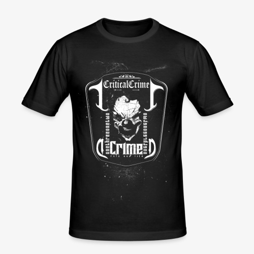 Skull Dark - Männer Slim Fit T-Shirt