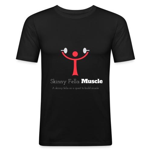 Logo T-Shirt - Black - Men's Slim Fit T-Shirt