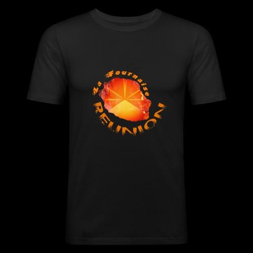 Collection Lo Mahavéli Volcan La Fournaise - T-shirt près du corps Homme