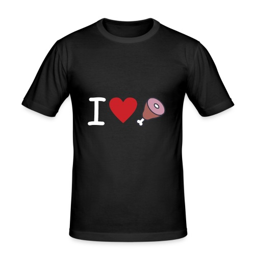 Amor de carne - Camiseta ajustada hombre