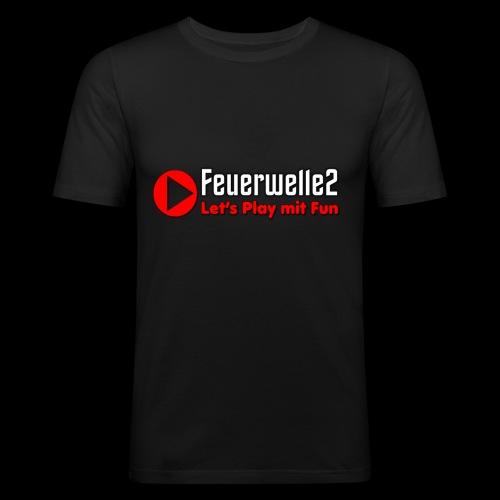 feuerwelle2 - Männer Slim Fit T-Shirt