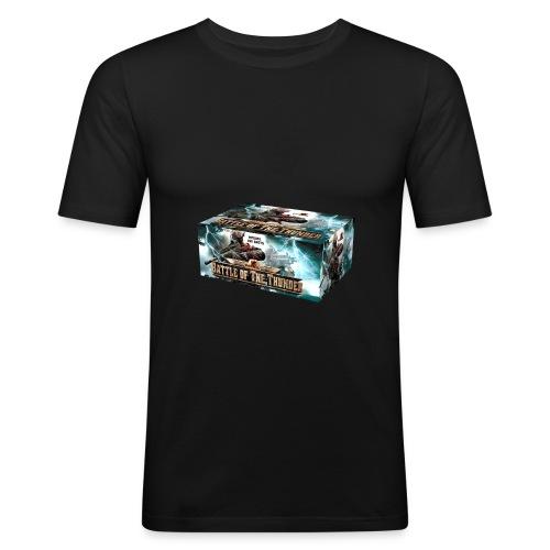 Battle of the Thunder - Männer Slim Fit T-Shirt