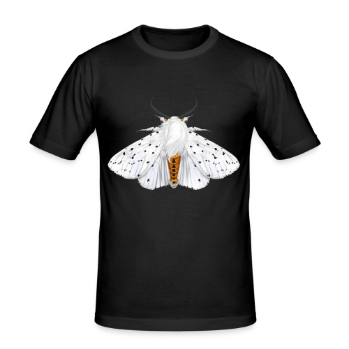 white ermine - Obcisła koszulka męska