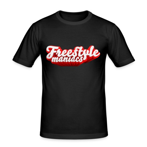 Freestyle Maniacs red - slim fit T-shirt