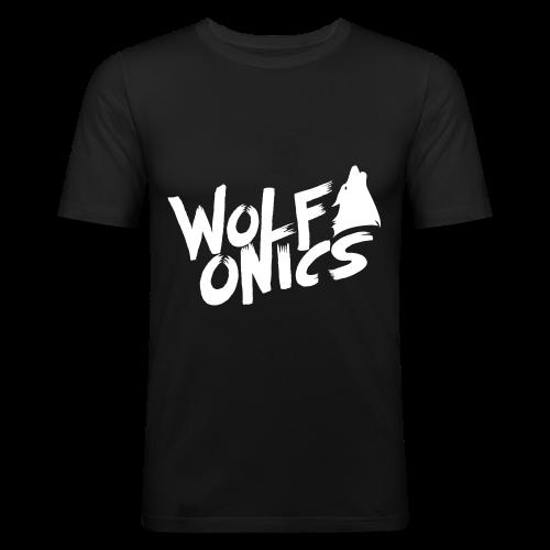 Wolfonics - Männer Slim Fit T-Shirt