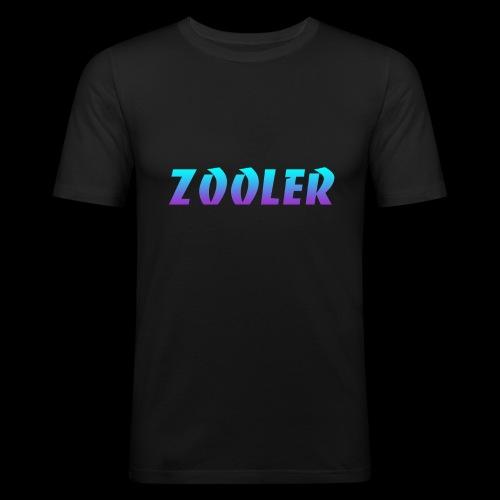 Zooler BANCO blue and purple - T-shirt près du corps Homme