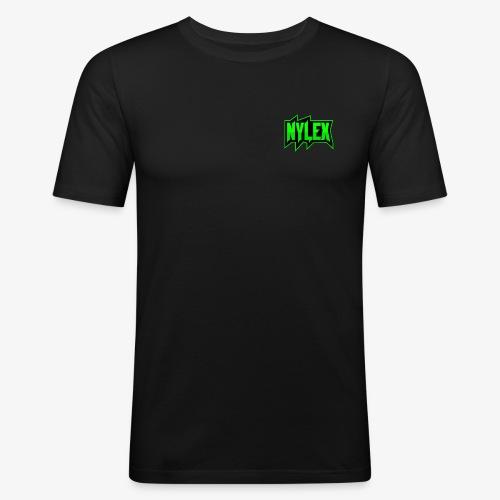 Team Nylex Logo - Männer Slim Fit T-Shirt