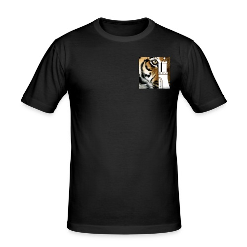 HamburgC4Tiger - Männer Slim Fit T-Shirt