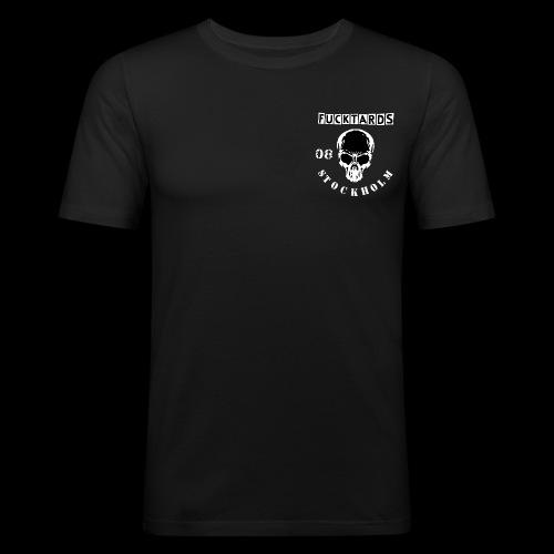 fucktards - Slim Fit T-shirt herr