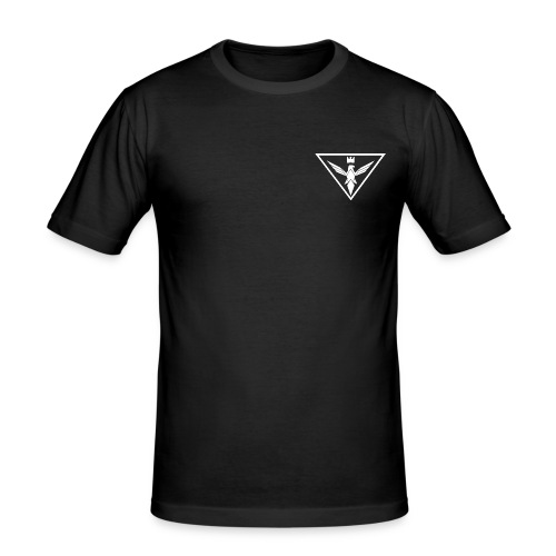 The Sovereignty Small Logo - Men's Slim Fit T-Shirt