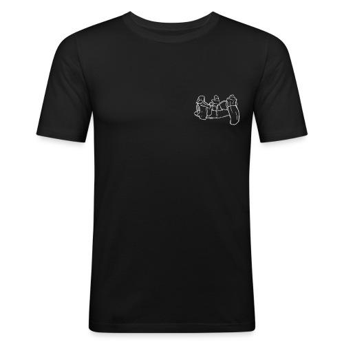 Dead Inside Reapers (BLACK) - slim fit T-shirt