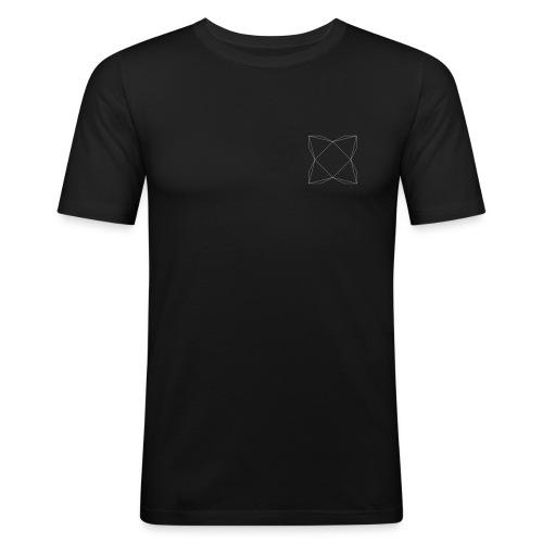 haxe logo outline - T-shirt près du corps Homme