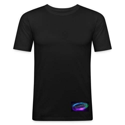Small Bottom logo - Men's Slim Fit T-Shirt