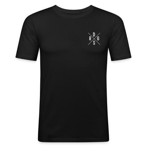 DSRG (White) - Men's Slim Fit T-Shirt